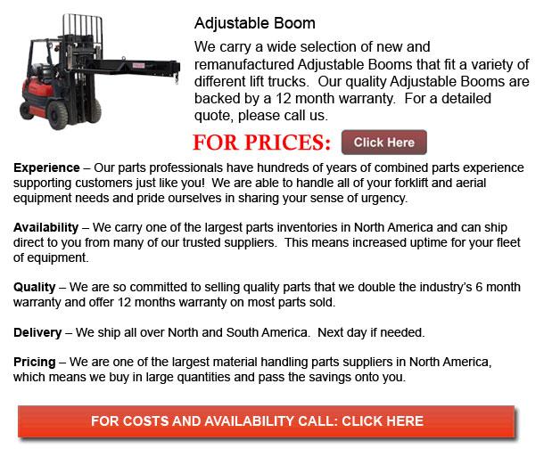 Adjustable Booms