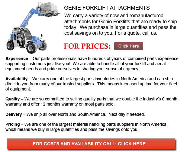 Genie Forklift Attachment