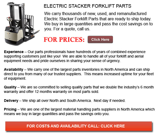 Parts for Electric Stackers