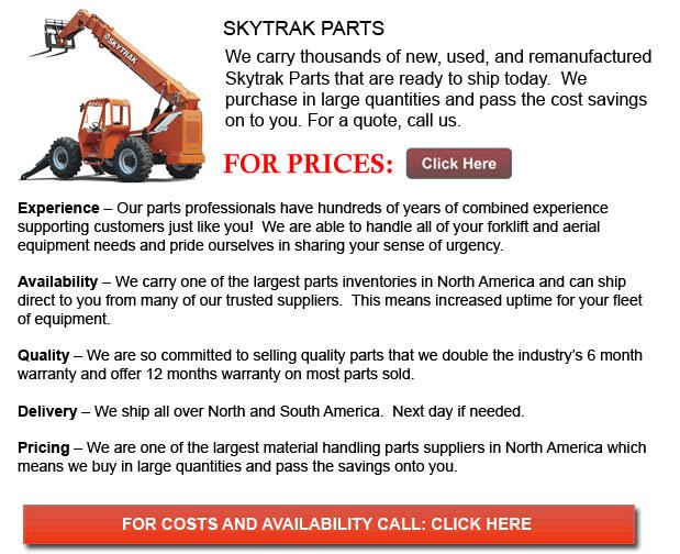 Skytrack Parts