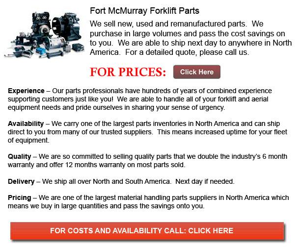 Fort McMurray Forklift Parts