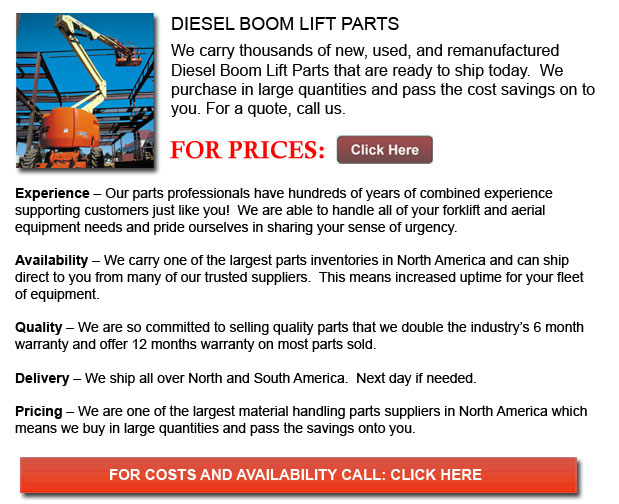 Parts for Diesel Boom Lifts