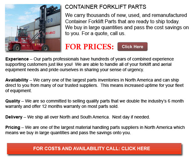 Parts for Container Forklift