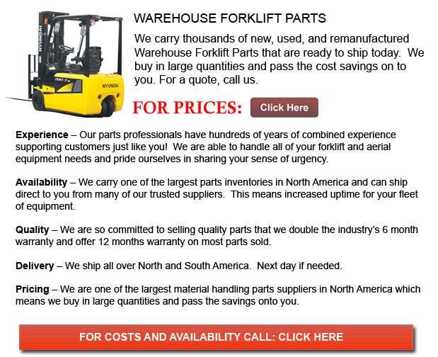 Parts for Warehouse Forklift