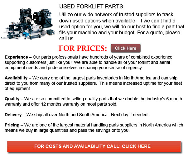 Used Parts for Forklifts