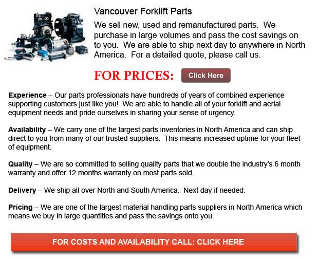 Vancouver Forklift Parts