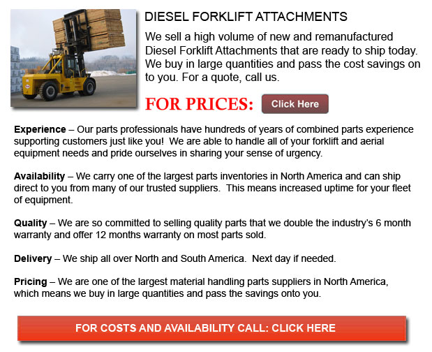 Diesel Forklift Attachment