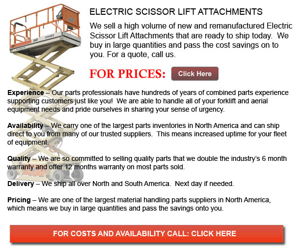 Electric Scissor Lift Attachment