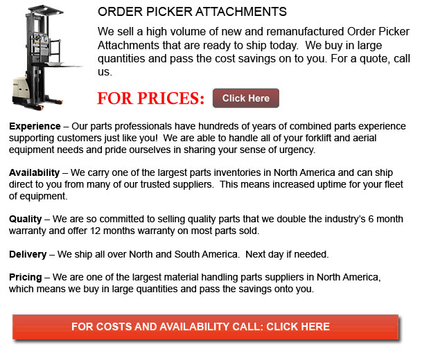 Order Picker Attachments