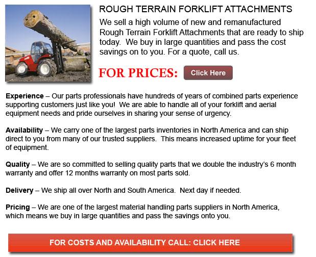 Rough Terrain Forklift Attachments