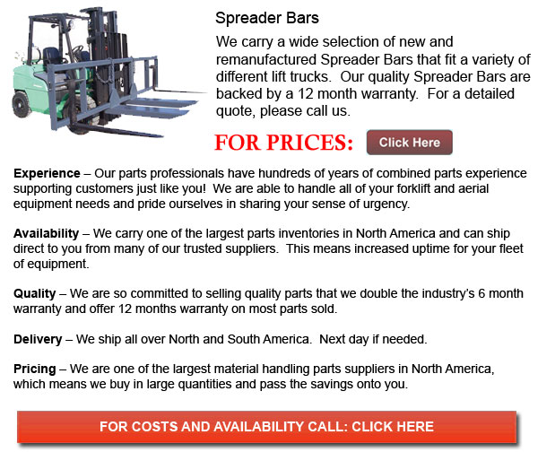 Spreader Bars for Forklift