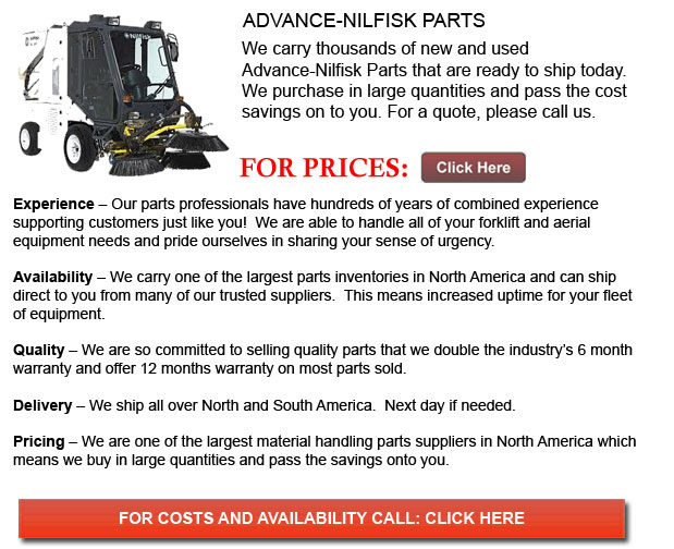 Advance-Nilfisk Parts