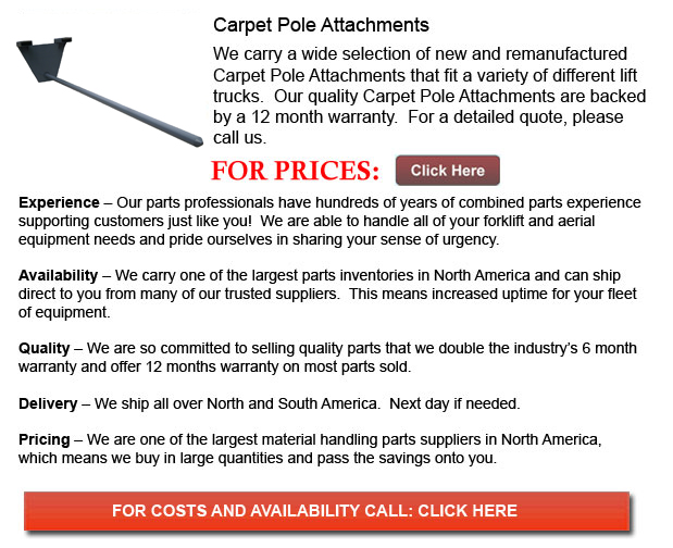 Carpet Pole Attachments