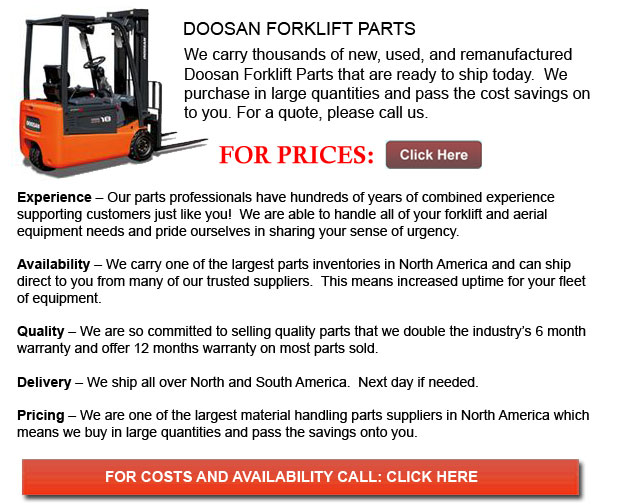 Doosan Forklift Parts