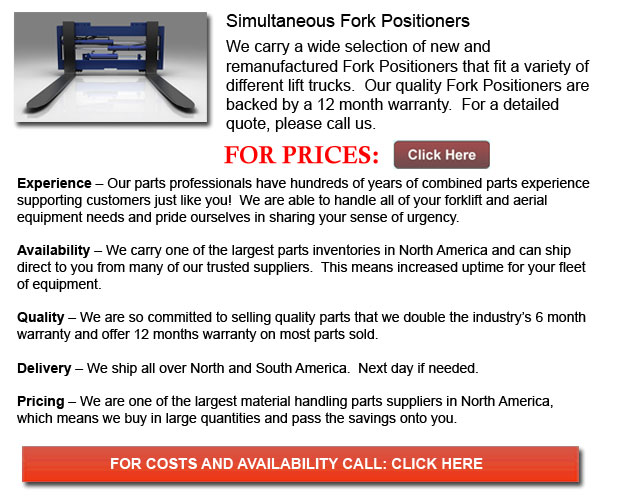 Simultaneous Fork Positioners