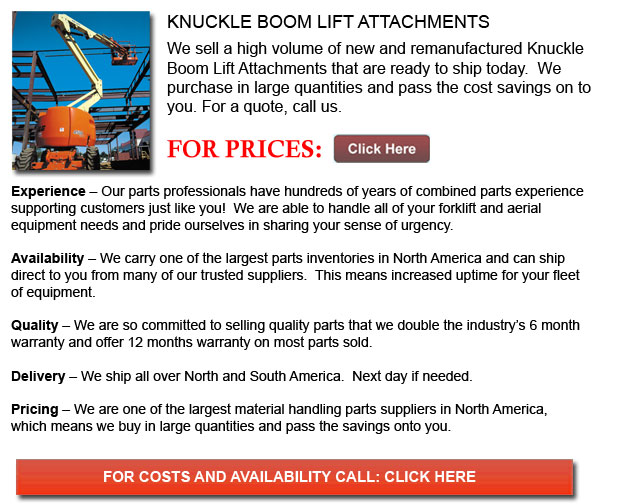 Attachment for Knuckle Boom