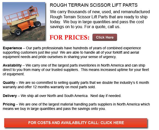Parts for Rough Terrain Scissor Lifts
