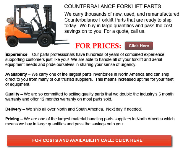 Counterbalance Forklift Parts