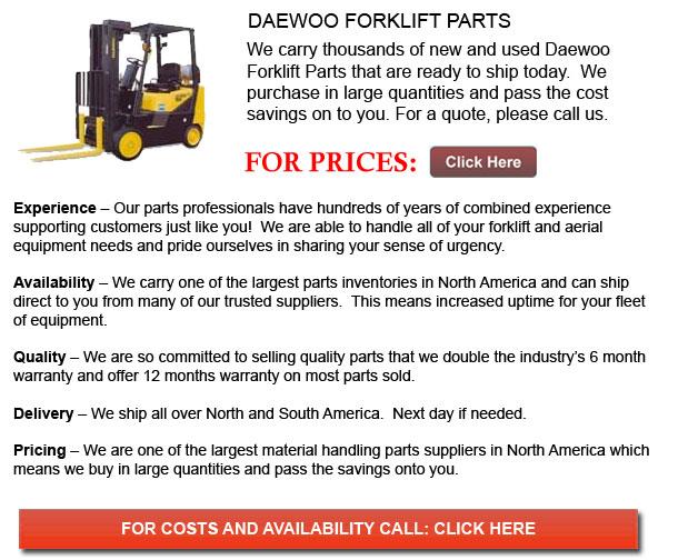 Daewoo Forklift Parts