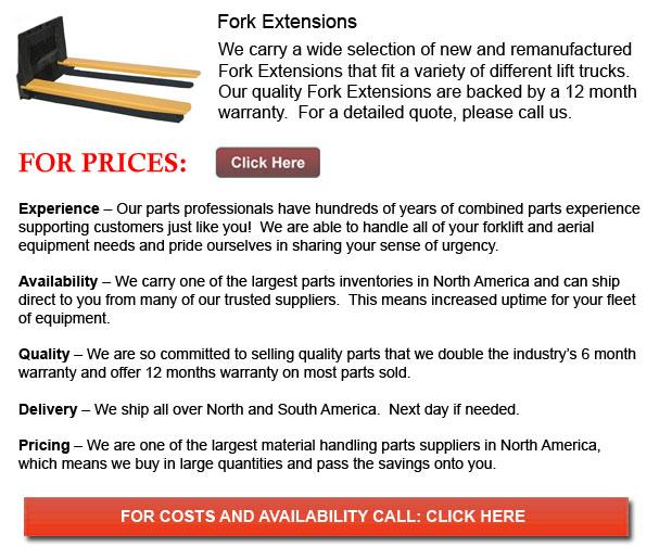 Fork Extension for Forklifts