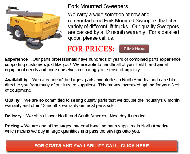 Fork Mounted Sweeper