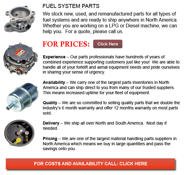 Fuel System for Forklift