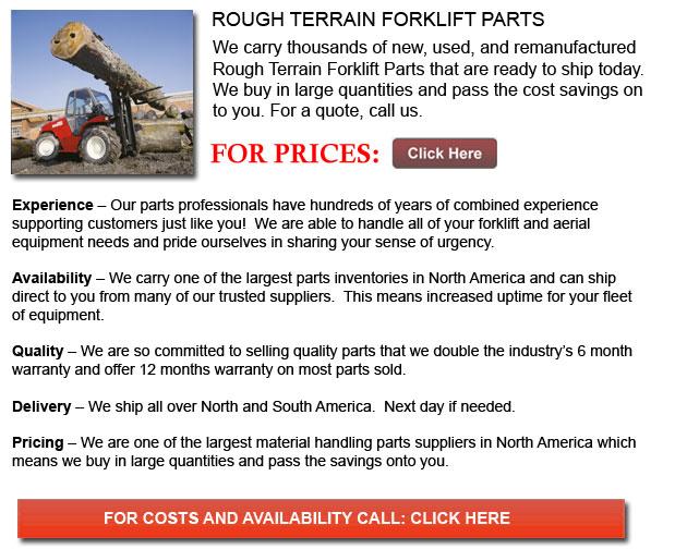 Parts for Rough Terrain Forklift