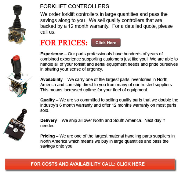 Controllers for Forklift