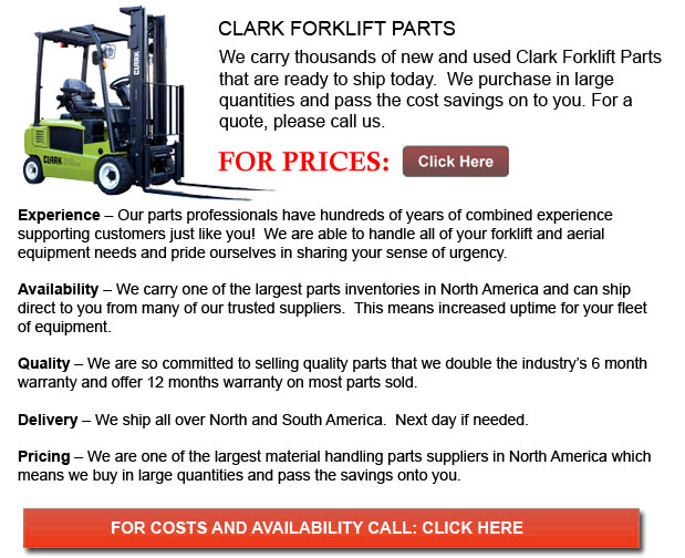 Clark Forklift Part