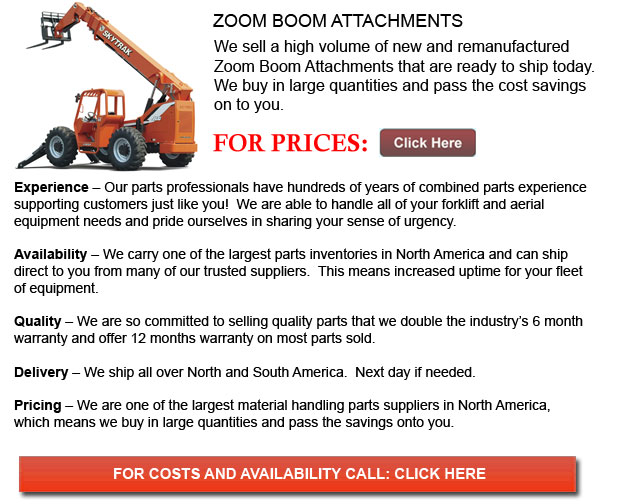 Attachments for Zoom Booms