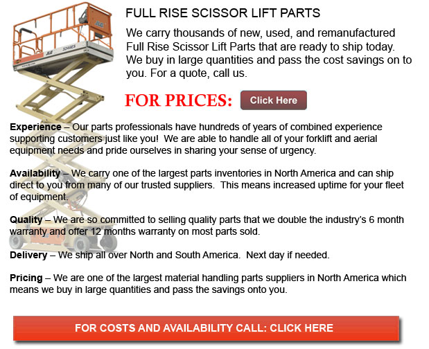 Full Rise Scissor Lift Part