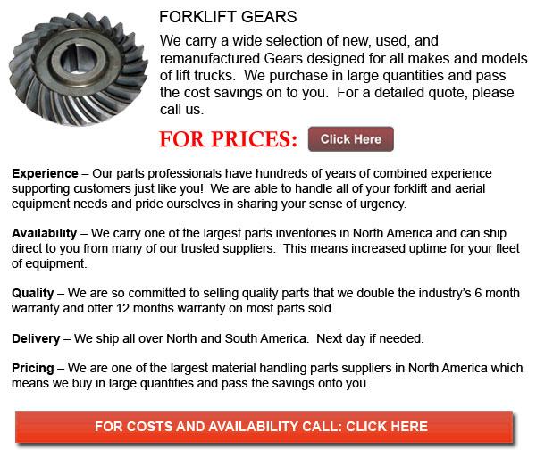 Gear for Forklift
