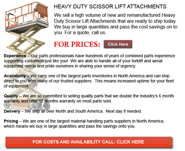 Heavy Duty Scissor Lift Attachments