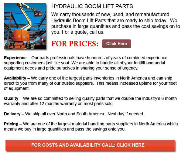 Hydraulic Boom Lift Parts