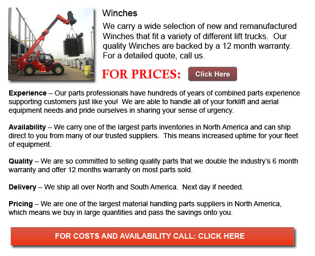 Winches for Forklift