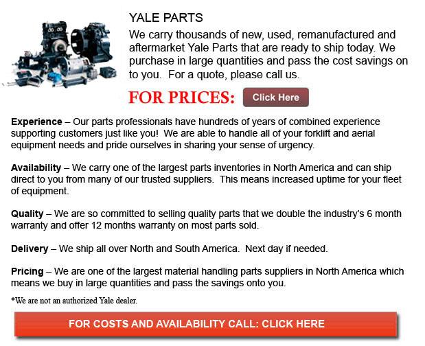 Yale Forklift Parts