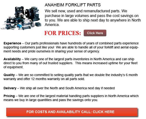 Anaheim Forklift Parts