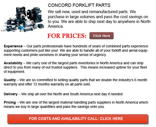Concord Forklift Parts