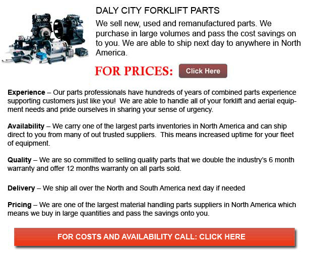 Daly City Forklift Parts