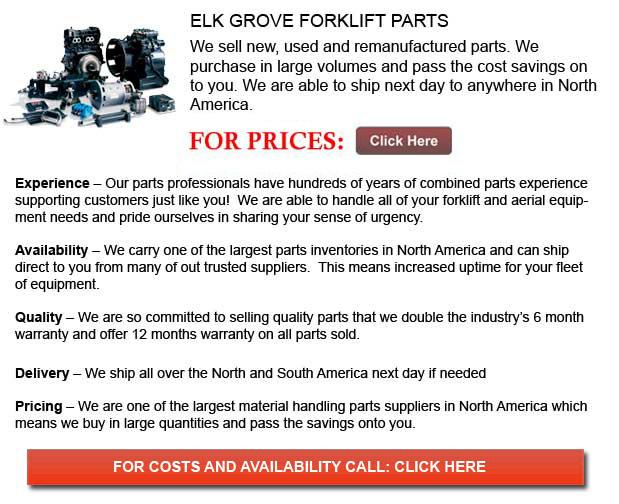 Elk Grove Forklift Parts