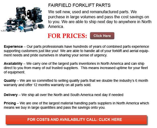 Fairfield Forklift Parts