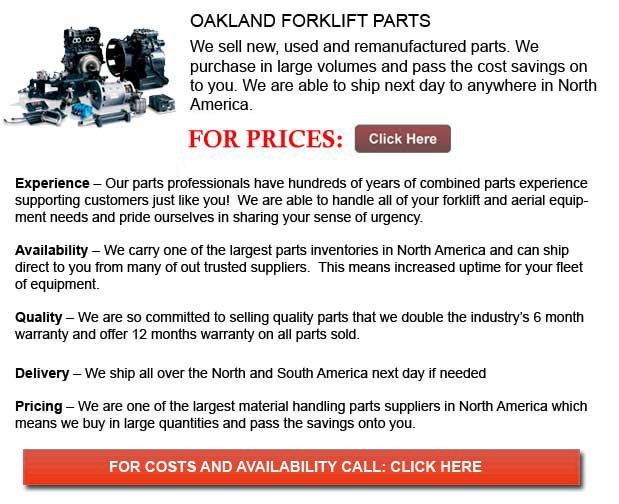 Oakland Forklift Parts