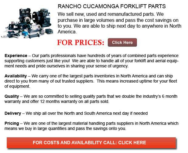 Rancho Cucamonga Forklift Parts