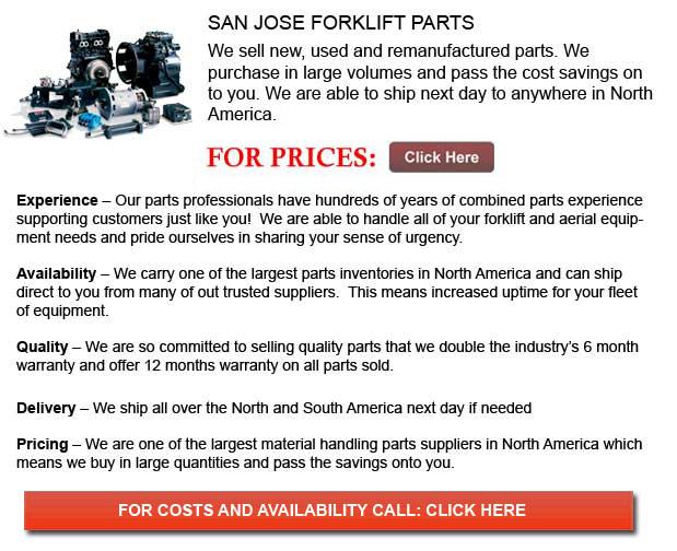 San Jose Forklift Parts