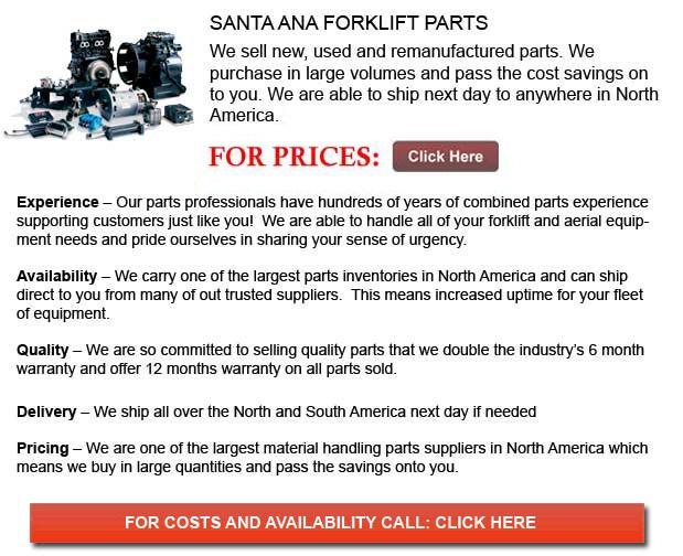 Santa Ana Forklift Parts