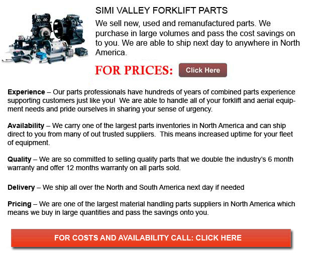 Simi Valley Forklift Parts