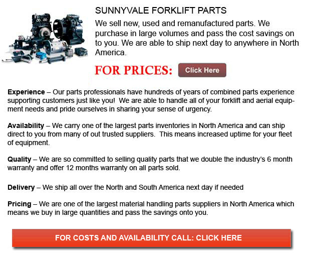 Sunnyvale Forklift Parts
