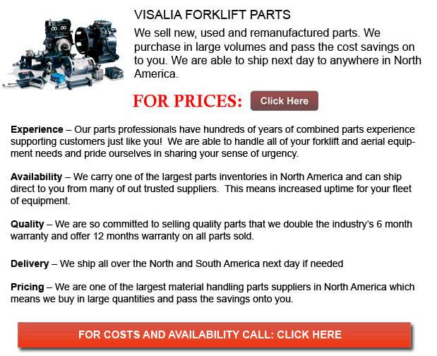 Visalia Forklift Parts