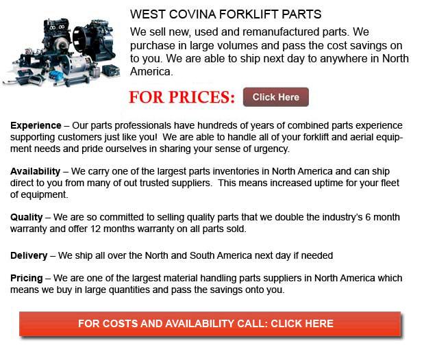 West Covina Forklift Parts
