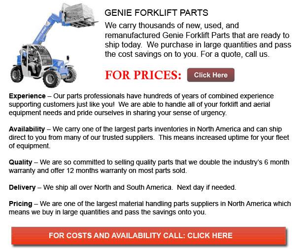 Genie Forklift Parts